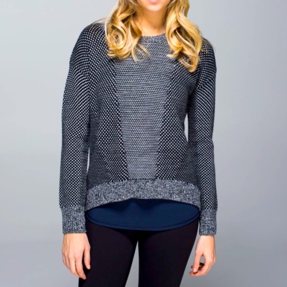Lululemon Athletica Wmn Wool Yogi Pullover Sweater